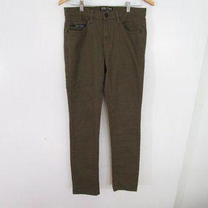 Zoo York Mens Skinny Jeans Size 30 Dark Green